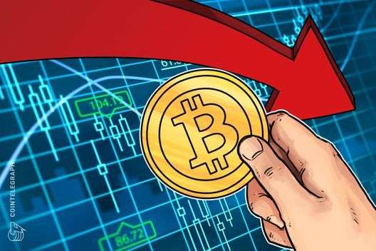 CoinTelegraph: Bitcoin Drops to $10,000 in Recent Downtrend