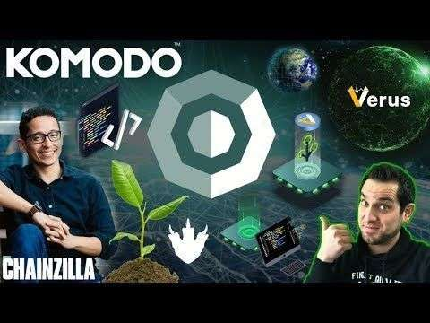Crypto Zombie: MASSIVE Komodo Updates with PTYX (Ecosystem Developer) Sapling | Crypto Conditions | $KMD