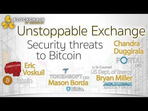 World Crypto Network: Blockchain At Berkeley UNSTOPPABLE EXCHANGE (2): Security threats to Bitcoin