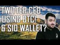 Crypto Daily: Twitter CEO Using Bitcoin! S10 Wallet? Eos vs Tron vs Ethereum