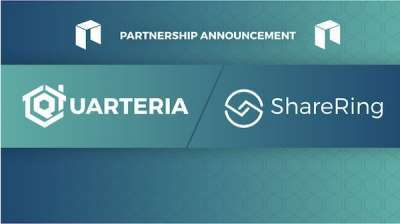 Trustnodes: Press Release: Shared Real Estate on the Blockchain, ShareRing to Partner with Quarteria