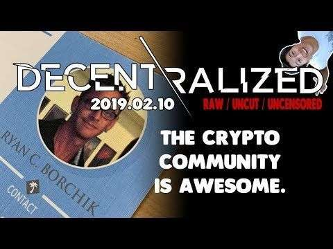 Decentralized TV: The Cryptocurrency Community is #1! - We're Adventurers, Helping Each Other! - SeasideGraphicsLV.com